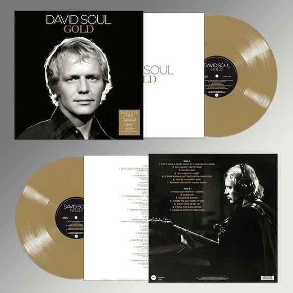 David Soul: Gold: Limited Edition Colour Vinyl