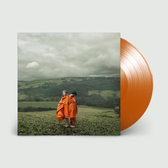 Cobalt Chapel: Orange Synthetic: Signed 180gm Fluorescent Orange Vinyl