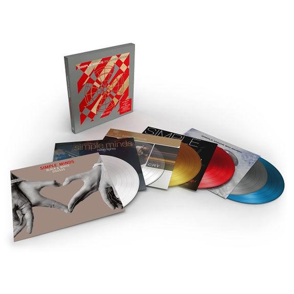 Simple Minds: Rejuvenation 2001-2014: Coloured Vinyl Box Set