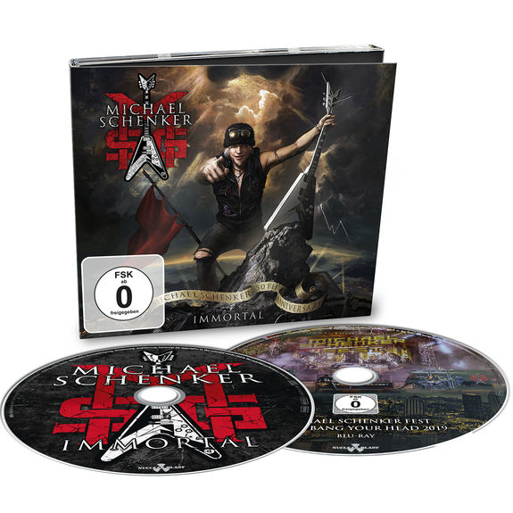 MSG: Immortal: Limited Edition CD/Blu-Ray Digipack