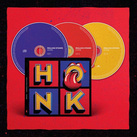 The Rolling Stones: Honk Deluxe 3CD