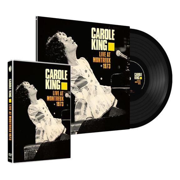 Carole King: Live At Montreux 1973 LP + DVD Bundle
