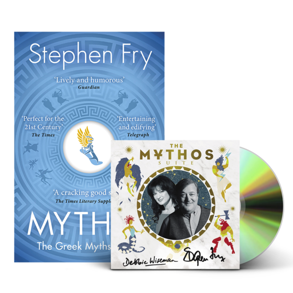 Stephen Fry and Debbie Wiseman : Mythos CD & Book Bundle
