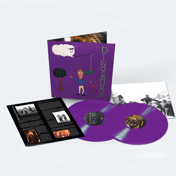 Dinosaur Jr: Hand It Over: Deluxe Expanded Edition Double Purple Vinyl