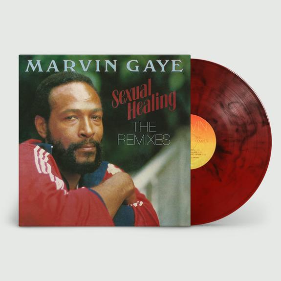 Marvin Gaye: Sexual Healing - The Remixes: Red Smoke Vinyl LP