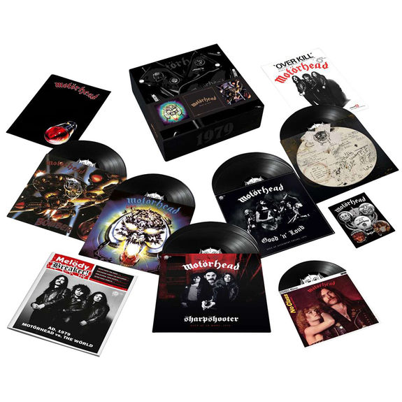 Motörhead: 1979: Deluxe 7LP Box Set