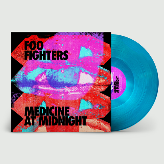 Foo Fighters: Medicine At Night: Limited Edition Blue Vinyl