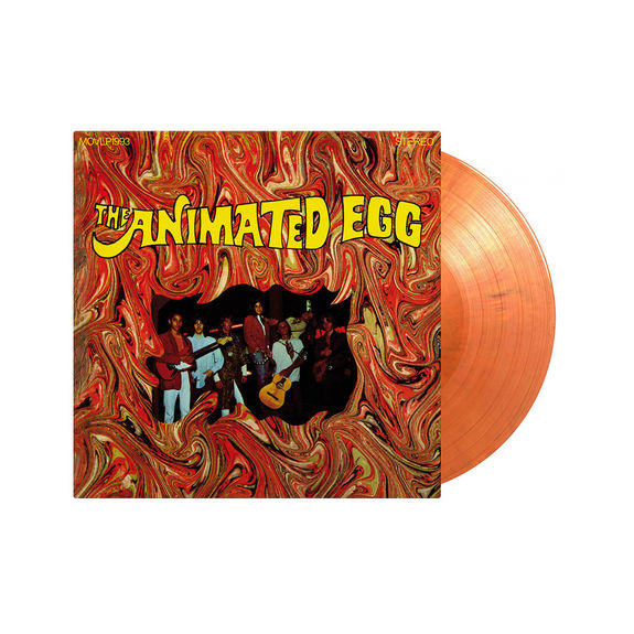 The Animated Egg: Animated Egg: Limited Edition Orange Marbled Vinyl