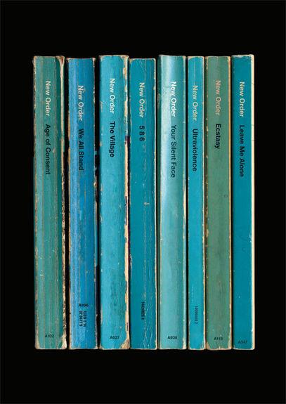 New Order: 'Power, Corruption & Lies' Album As Books Art Print