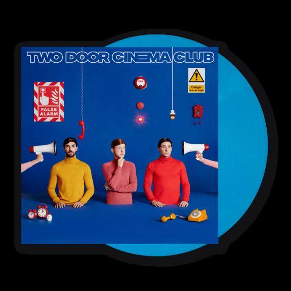 Two Door Cinema Club: False Alarm: Limited Edition Blue Vinyl