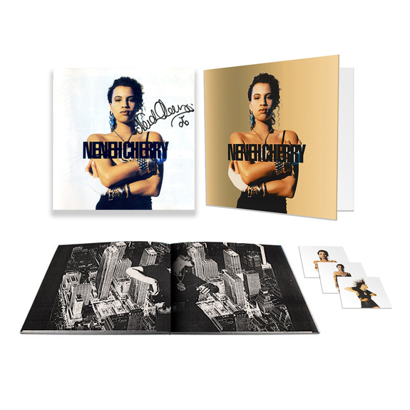 Neneh Cherry: Raw Like Sushi: Deluxe Triple CD + Exclusive Signed Lithograph