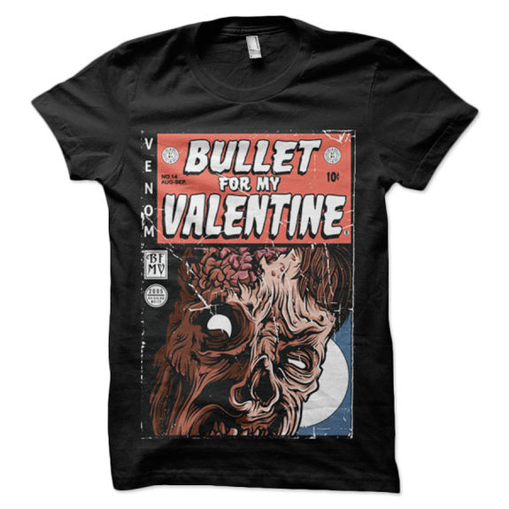 Bullet For My Valentine: Venom Zombie T-Shirt