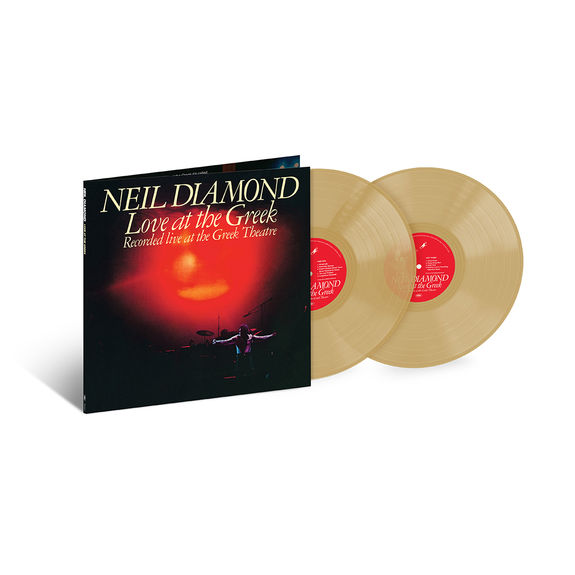 Neil Diamond: Love At The Greek: Exclusive Double Gold Vinyl