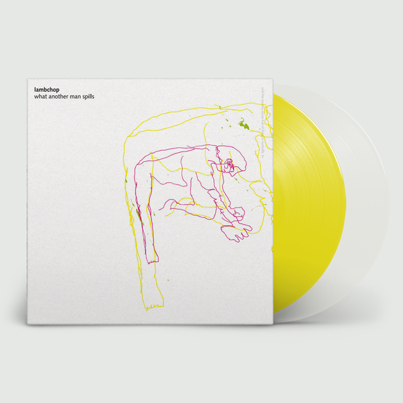 Lambchop: What Another Man Spills (Remastered 20th Anniversary Reissue): Yellow and Clear Vinyl LP