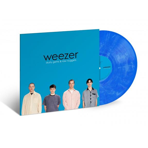 Weezer: Weezer (Blue Album): Exclusive Blue And White Marbled Vinyl