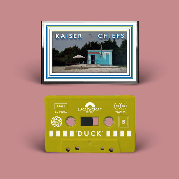 Kaiser Chiefs: Duck Blue & Yellow Exclusive Leeds Edition Cassette