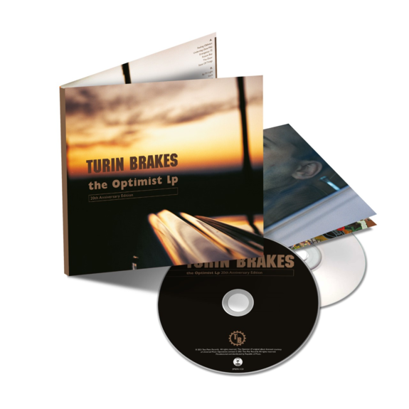 Turin Brakes: The Optimist LP: Signed Deluxe Double CD
