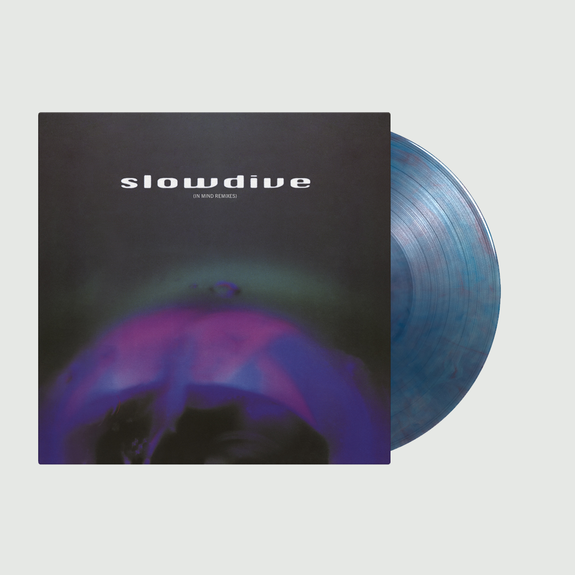 Slowdive: 5 EP (In Mind Remixes): Limited Edition Blue/Red Swirled Vinyl
