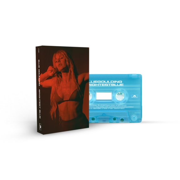 Ellie Goulding: Brightest Blue Aqua Recycled Plastic Cassette - UK EXCLUSIVE