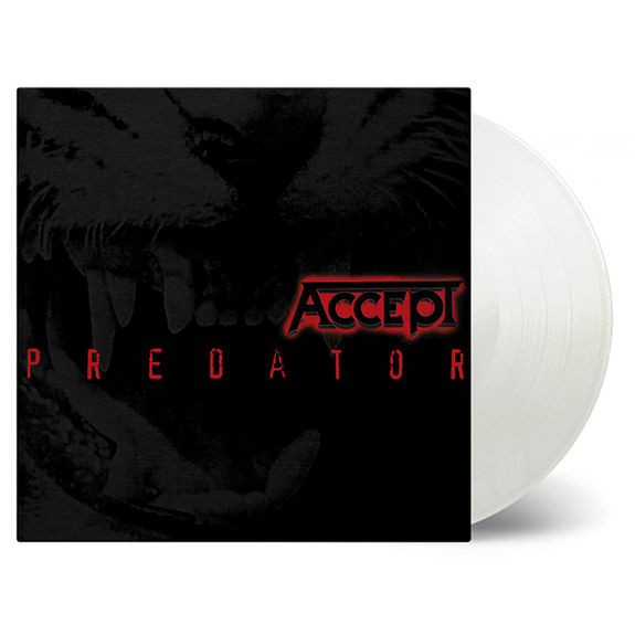 Accept: Predator: Limited Edition Transparent Vinyl