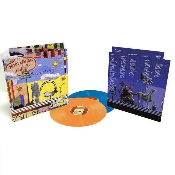 Paul McCartney: Egypt Station Deluxe Coloured Vinyl