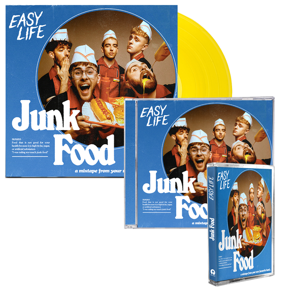 Easy Life: Combo Meal 1: Signed Vinyl, CD + Cassette (UK Exclusive)