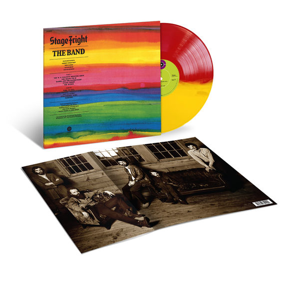 The Band: Stage Fright (50th Anniversary): Exclusive Split Colour Vinyl