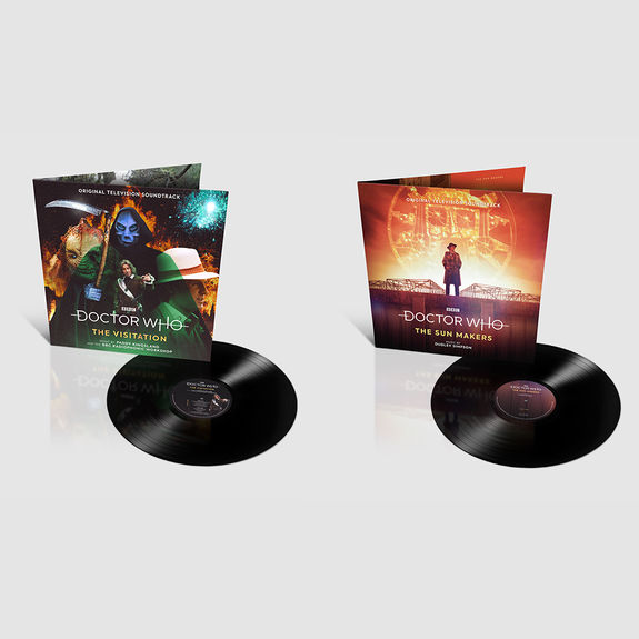 Original Soundtrack: Doctor Who - The Sun Makers & The Visitation Bundle