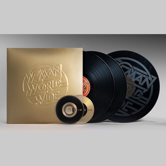 Justice: Woman Worldwide - 3 LP + 2 CD