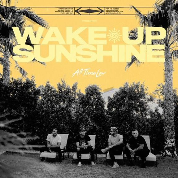 All Time Low: Wake Up Sunshine