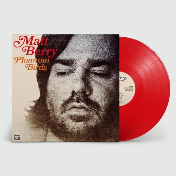 Matt Berry: Phantom Birds: Limited Edition Red Vinyl
