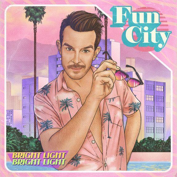 Bright Light Bright Light: Fun City: CD + Signed Polaroid
