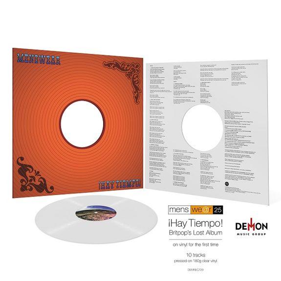 Menswear: Hay Tiempo: Limited Edition Clear Vinyl