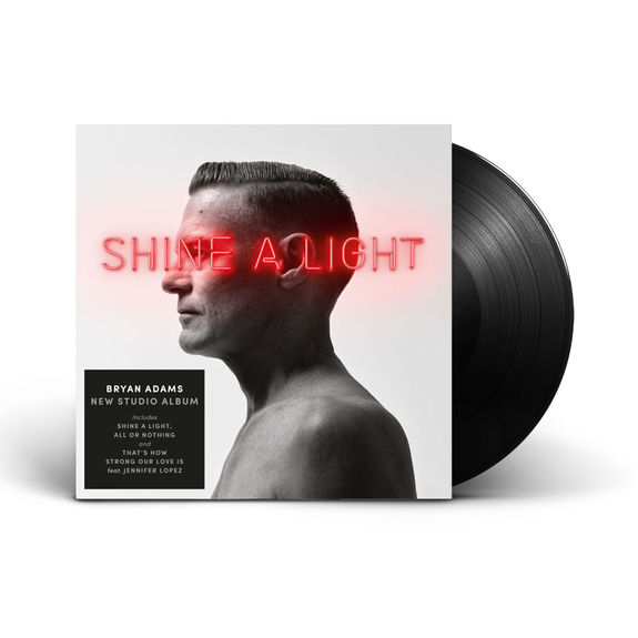 Bryan Adams: Shine A Light Vinyl