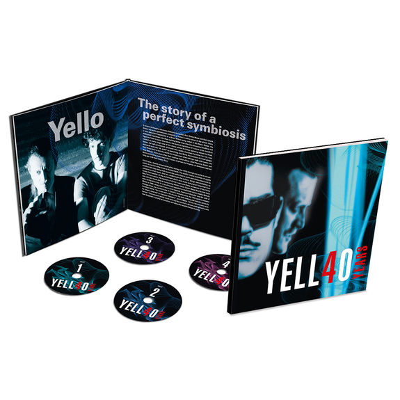 Yello: YELL4O YEARS: Limited Edition Hardcover 4CD