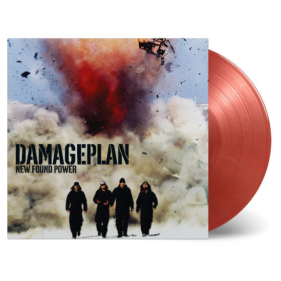 Damageplan: New Found Power: Gold & Solid Red Numbered Vinyl