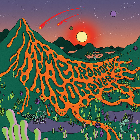 Metronomy: Metronomy Forever: Limited Deluxe Edition Transparent Green and Orange Vinyl