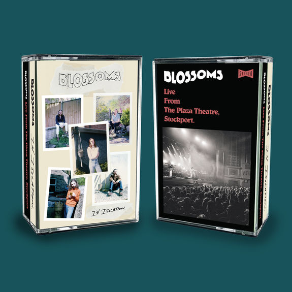 Blossoms: SIGNED COLOURED DOUBLE CASSETTE