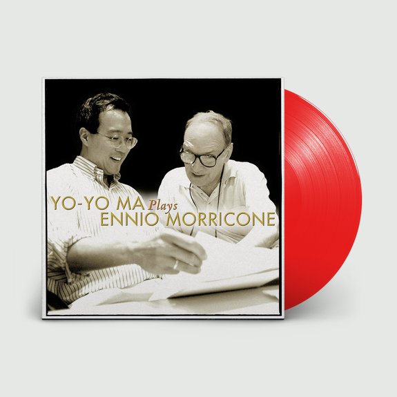 Yo-Yo Ma: Yo-Yo Ma Plays Ennio Morricone: Limited Edition Opaque Red Vinyl
