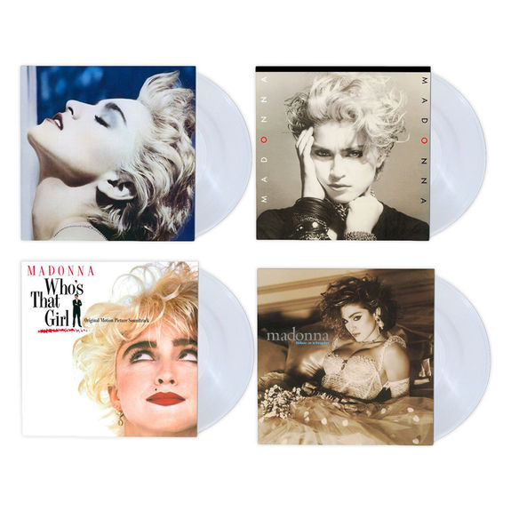 Madonna: Madonna Limited Edition Virgin Clear Vinyl Collection