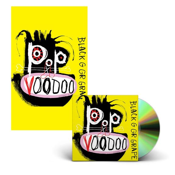 Black Grape: Pop Voodoo CD & Signed Poster Bundle