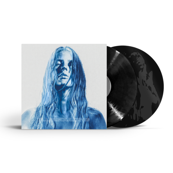 Ellie Goulding: Brightest Blue Black LP - Vivus Recycled Gatefold Sleeve