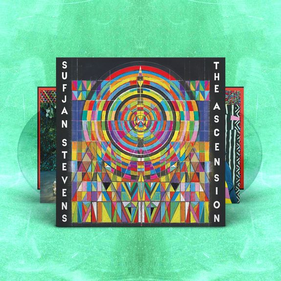 Sufjan Stevens: The Ascension: Limited Edition Double Clear Vinyl