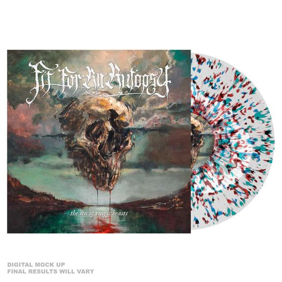 Fit For An Autopsy: The Sea Of Tragic Beasts: Limited Edition White, Blue, Green + Red Splatter Vinyl
