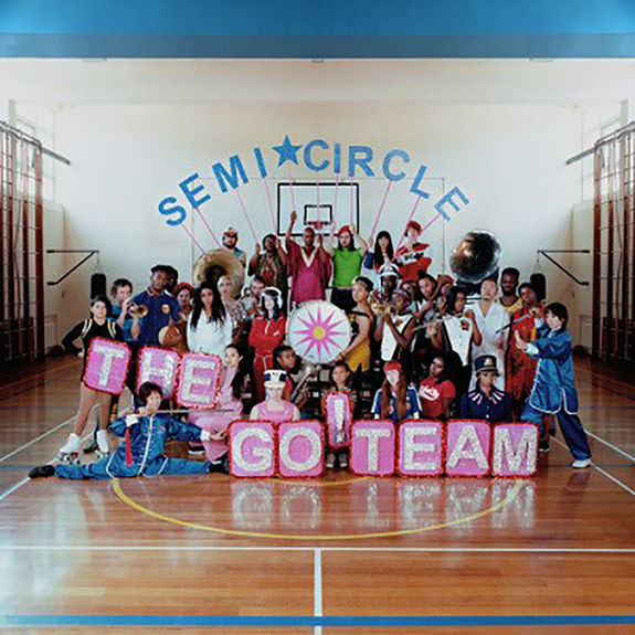 The Go! Team: SEMICIRCLE Neon Pink Coloured Vinyl