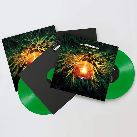 Jordan Rakei: Late Night Tales - Jordan Rakei: Signed Exclusive Green Vinyl 2LP