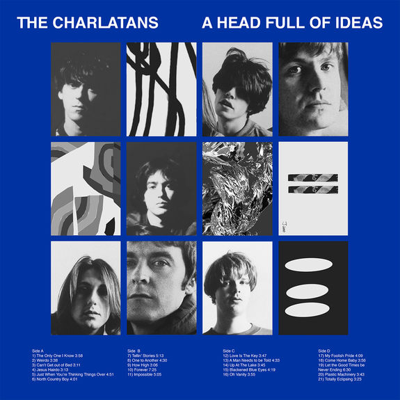 The Charlatans: A Head Full Of Ideas: CD