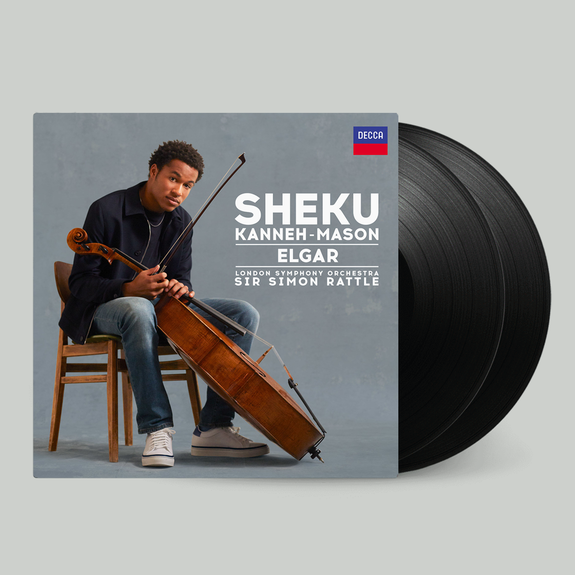 Sheku Kanneh-Mason: Elgar Signed 2LP