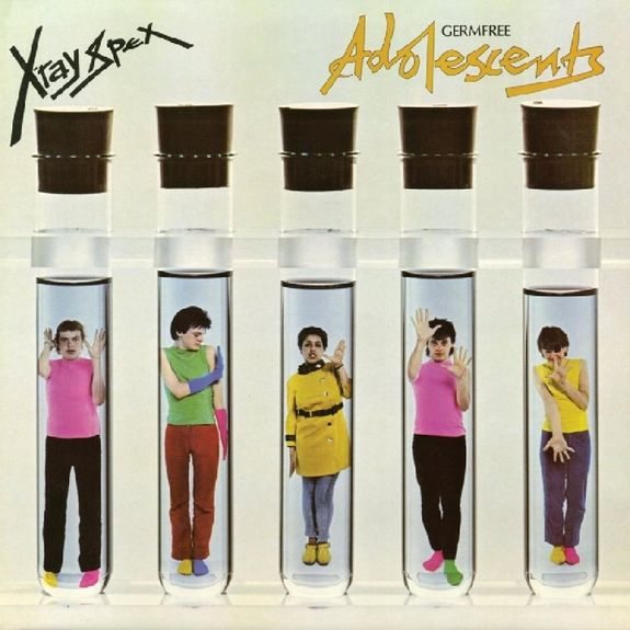 X-Ray Spex: Germfree Adolescents (Limited Yellow with Blue-Green Splatter Vinyl Edition)
