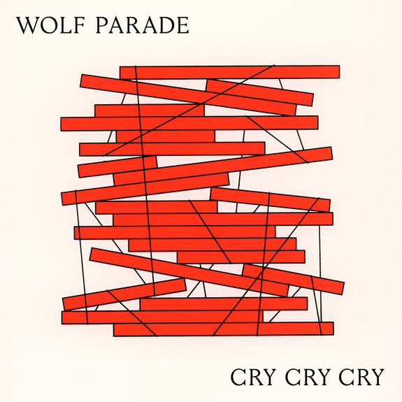 Wolf Parade: Cry Cry Cry: White Loser Edition Vinyl